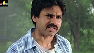 Annavaram Movie Pawan Kalyan warning to Lal | Telugu Movie Scenes | Sri Balaji Video - SRIBALAJIMOVIES