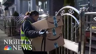 Police Department Teams Up With Amazon To Catch 'Porch Pirates' | NBC Nightly News - NBCNEWS