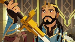 THE DRAGON PRINCE Trailer (Animation, 2018) - FILMSACTUTRAILERS