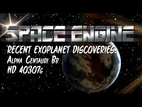 Space Engine - Recent Exoplanet Discoveries on Carl Sagan Day