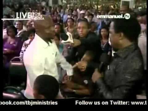 TB Joshua. Prayer & Prophecy 19 01 2013