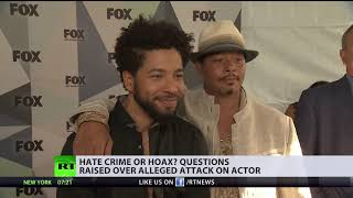 Hoax to improve career? Alleged attack on Jussie Smollett keeps raising questions - RUSSIATODAY