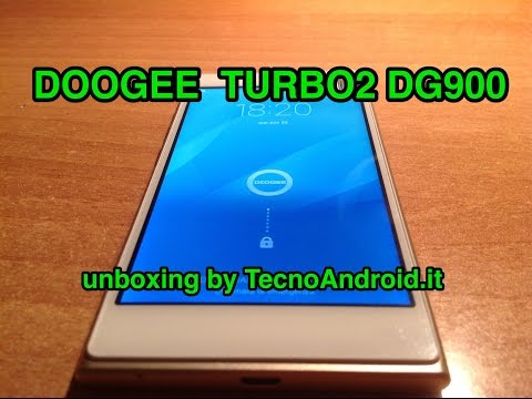 Doogee Turbo2 DG900 - unboxing in italiano