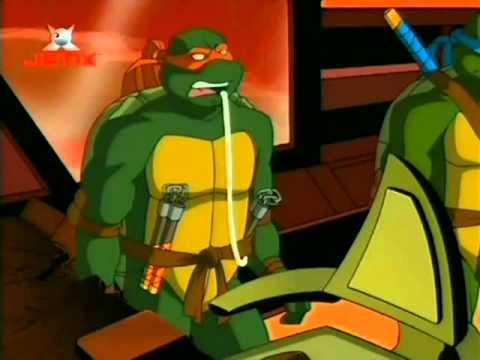 """TMNT PL Wojownicze Zółwie Ninja 2003 - """"Kosmiczni Najeźdźcy"""" -  S03E03 [2/3]"""