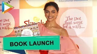 Deepika Padukone at the Launch of the Book The Dot That Went For A Walk | Part 1 - HUNGAMA