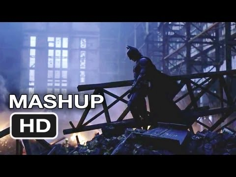 The Dark Knight Rises Ultimate Batman Trilogy Mashup HD