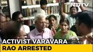 Activist Varavara Rao Arrested Again For Alleged Link To Maoist Plot - NDTV