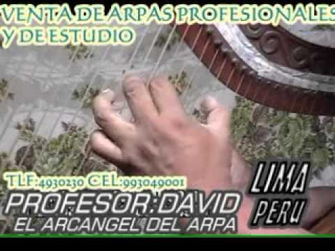 CLASES DE ARPA Y CANTO parte 24 CLASES EN DVD,VENTA DE ARPAS Y VESTUARIOS.CEL:993049001 LIMA PERU