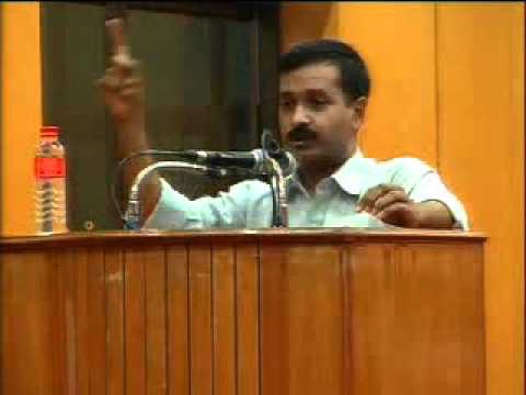 Part 1: Arvind Kejriwal @ IIT Chennai - 31st July 2011