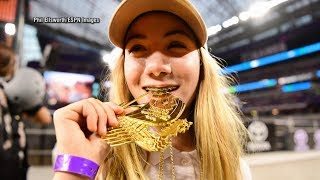 How this 13-year-old girl became the youngest gold medalist in X Games history - ABCNEWS