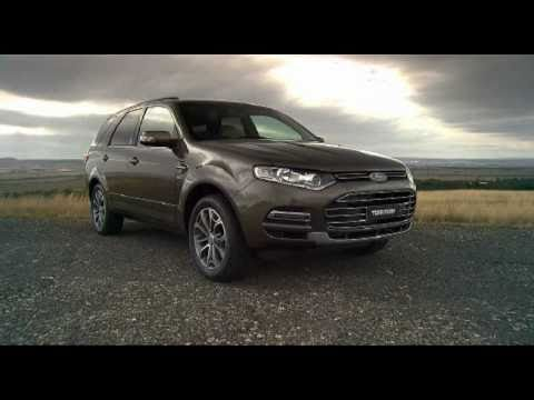 2011 New Ford Territory for Australia revealed