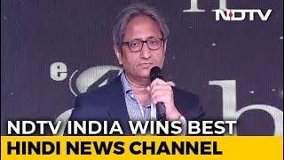 "Ravish's Response To Hoardings That Said ""Ravish's Prime Time Ends Now"" - NDTV"