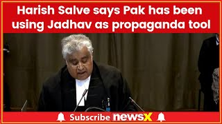 Kulbhushan case in ICJ: Harish Salve says charges against Jadhav are half-baked Pakistani propaganda - NEWSXLIVE