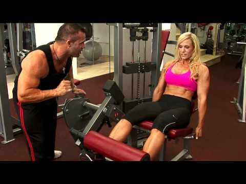 Women Leg Exercises Superset
