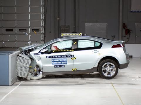 2011 Chevrolet Volt frontal offset test