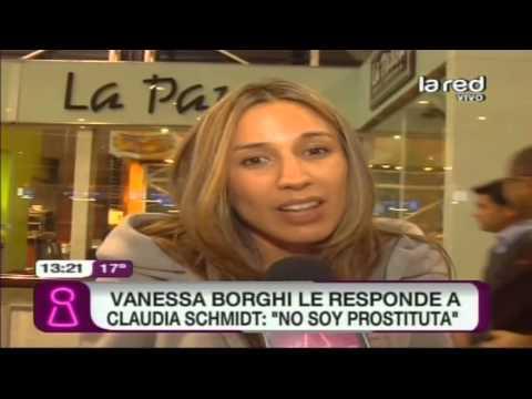 Vanessa Borghi le responde a Claudia Schmidt: