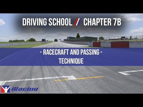 iRacing.com Driving School Chapter 7B: Race Craft & Passing - Technique