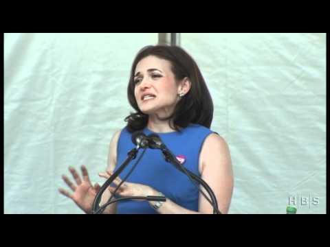 Przemówienie Sheryl Sandberg na Uniwersytecie Harvarda.