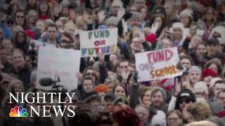 Tens Of Thousands Of Los Angeles Teachers Strike After Negotiations Collapse | NBC Nightly News - NBCNEWS