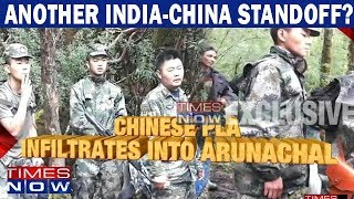 China provokes India again, Chinese troops spotted at Arunachal Pradesh - TIMESNOWONLINE