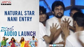Natural Star Nani Entry @ Devadas Audio Launch - ADITYAMUSIC