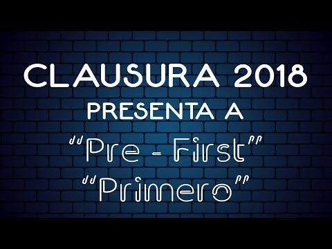 Clausura 2018 Bloque 1