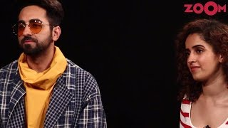 Exclusive: Ayushmann Khurrana and Sanya Malhotra share their physical education experiences! - ZOOMDEKHO