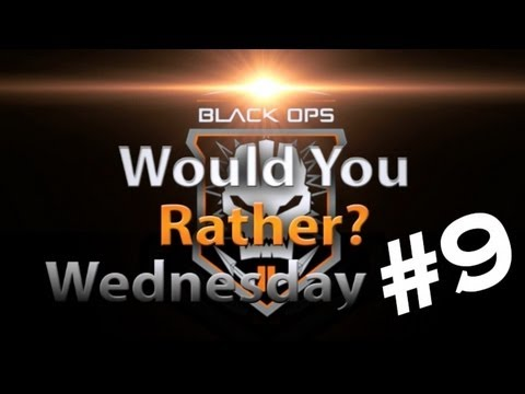 Black Ops 2 - Would You Rather Wednesday #9 Pooping Mayo