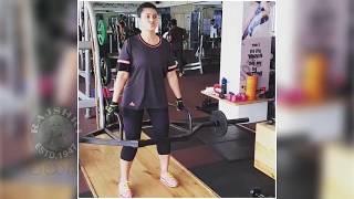 హల్చల్ చేస్తున్న నటి స్నేహ షాకింగ్ వీడియో | Actress Sneha Workout At Gym Video For New Movie - RAJSHRITELUGU