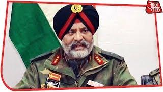 Pulwama आतंकी हमले और कल की मुठभेड़ पर Indian Army की Press Conference - AAJTAKTV
