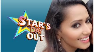 Actress Sanjana Singh in Star's Day Out – Puthuyugam tv Show