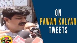 Janasena Leader Addepalli Sridhar Briefs On Pawan Kalyan Tweets At Film Chamber | Mango News - MANGONEWS