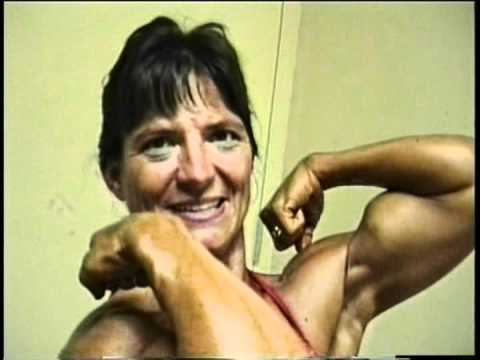 Amazing Bicep Peaks on NATURAL Lady.MOD