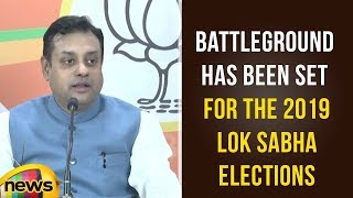Sambit Patra Says The Battleground Has Been Set For The 2019 Lok Sabha Elections | BJP News Updates - MANGONEWS