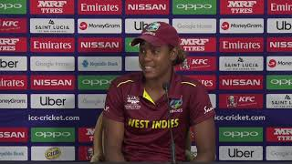 ICC Womens World T20 2018 - Windies player Hayley Matthews - CRICKETWORLDMEDIA