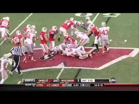 John Simon - Ohio State Football - DE - 2012 Wisconsin Game