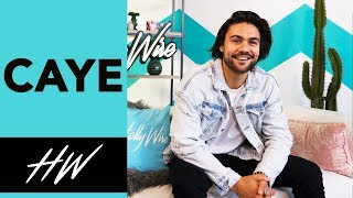CAYE Talks Personal Style & Working with WIZ KHALIFA !! - HOLLYWIRETV