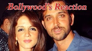 Bollywood's reaction on Hrithik Roshan -- Sussanne Roshan split - ZOOMDEKHO