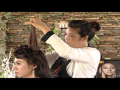 Bới tóc cô dâu - Chuyên viên Thu Cúc