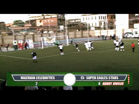Celebrities Vs Ex Super Eagles