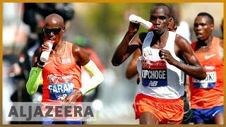 🏃🏿 Two Kenyan runners win London Marathon | Al Jazeera English - ALJAZEERAENGLISH