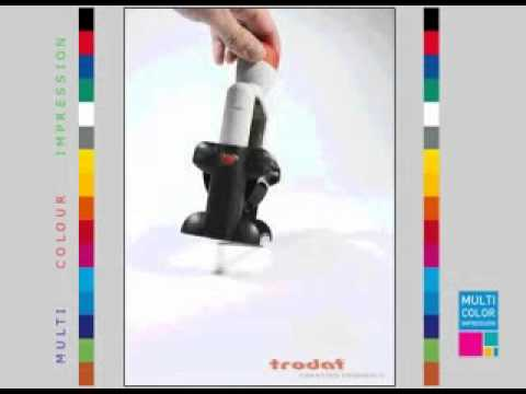Trodat Professional Line Heavy Duty Self Inking Multi Color Stamps