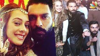 Yuvraj Singh, Hazel Keech tie the knot amidst Virat Kohli & friends | Celebrity Wedding