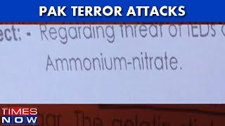 Intel Note Warns Security Agencies, Terrorists To Use Ammonium Nitrate For Attacks - TIMESNOWONLINE