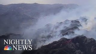 New Concerns Over Toxic Smoke As California Wildfire Death Toll Rises | NBC Nightly News - NBCNEWS