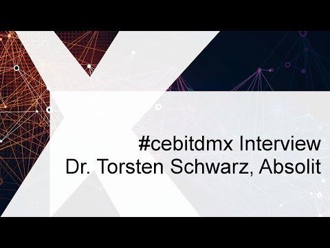 #cebitdmx Interview mit Torsten Schwarz, Absolit