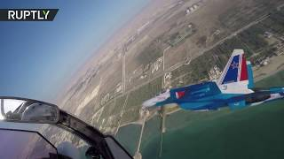 Russian Knights perform incredible aerial stunts at BIAS-2018 Airshow - RUSSIATODAY
