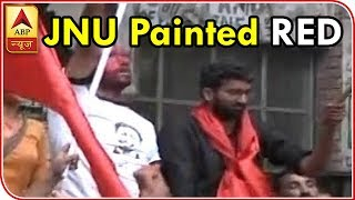 Twarit Mahanagar: JNU painted RED as Left sweeps all four seats in student polls - ABPNEWSTV
