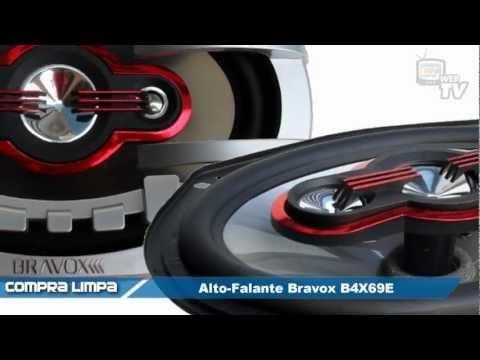 Alto-Falante Bravox B4X69E (6x9 polegadas / 150W RMS)