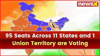 Lok Sabha Election 2019, Phase 2: 95 Seats Across 11 States and 1 Union Territory to Vote Today - NEWSXLIVE